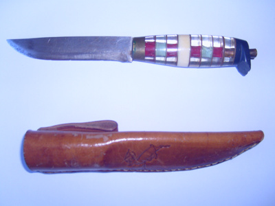 Knife and sheath; Mr William Mackay; SGHT.2011.27