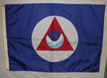 National Oceanic & Atmospheric Administration (NOAA) Flag; U. S. Flag & Signal Co., Inc; SGHT.2009.19