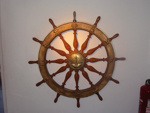 Ship's Wheel from 'Pharos' VII, William Beardmore (estab. 1880s, closed 1936), 1909, SLM.1996.128