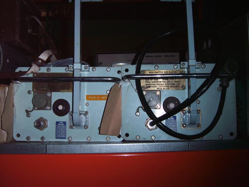 Sea watch Racon 300 test set (2); NLB via Granton stores; SLM ...