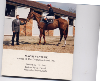 Maori Venture - 1987 Grand national, EHHTM-2009-00969