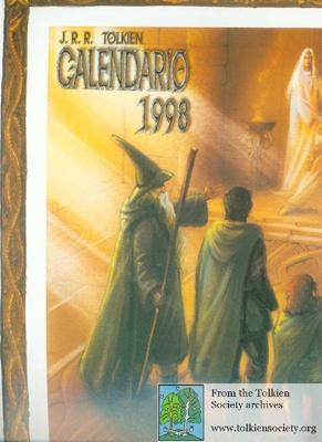1998 Calendario.J R R Tolkien Calendario 1998 Societa Italiana Tolkieniana
