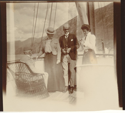 1903 Diary Account of cruise on the SS Zaza; R.H.Beaumont; 1903; 02/020