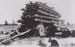 Photograph - Team of Horses puling a log. ; c 1910; 20286