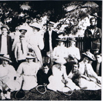 Photograph - Tennis Party at Mountain View; c 1900; 9182