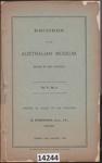 Book: Records of the Australian Museum; Etheridge, R Jnr; 1904; 14244