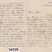 Letter - Edgar Hunt writing to his sister Ethel. ; Hunt, Edgar; 1904; 14159