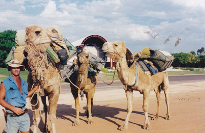 Photograph - Camel team at the Stockman's Hall of Fame. ; 1998; 17771