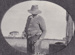 Photograph - Man on Portland Downs. ; c 1920; 12385