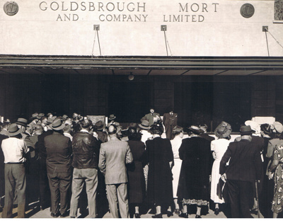 Photograph - Opening of Goldsbrough Mort and Co Ltd new Offices in Todd Street.; 1949; 13173