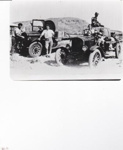 Photograph - Trucks near Vlaming Head Light House; c1920; 14995