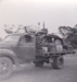 Photograph - Truck with machinery on tray for transport to Brisbane for repairs.  ; c 1950; 18355