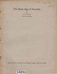 Book: The Stone Age of Australia.  ; Mulvaney, Derek John; 1961; 14251