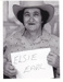 Photograph -  Elsie Earl at the First Drover's Reunion.; c 1990; 18759