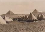 Photograph - Ninth Light Horse Camp at Mena.  ; 1915; 14282
