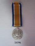 Object - British War Medal (Replica); 2015; 14396