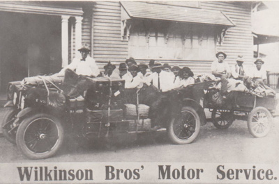 Photograph - Wilkinson Brothers, Mail Contractors. ; 1919; 9905