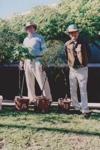 Photograph - Planting tree ceremony.  ; 2000; 19156
