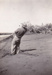 Photograph - W A Leslie Fishing at Karratha, Western Australia.  ; c 1940?; 12319