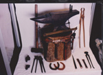 Photograph - The Wooden Smithy Sculpture made for the Dame Mary Durack outback Art and craft awards. ; Exposure Photographers; 2003; 19179