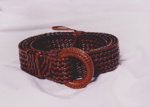 Photograph - Plaited belt entered in the Dame Mary Durack Outback Art and Craft Awards. ; Exposure Photographers; 2003; 19169