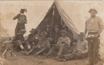 Photograph - Military Soldiers 5th of 11th Light Horse Camp. ; 1917?; 14279