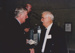 Photograph - Colin Munro hands an award to Don Picton at the Dame Mary Durack Outback Art and Craft Awards.  ; Exposure Photographers; 2003; 19217
