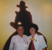 Photograph - ASHOF Staff member and Drover at the first Drover's reunion. ; 1990; 16891