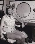 Photograph - Olga Tarling, Area Air Traffic Controller.  ; 1965; 14049