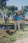 Photograph - Planting tree ceremony.  ; 2000; 19110
