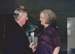Photograph - Colin Munro hands an award to Jenny Burgess at the Dame Mary Durack Outback Art and Craft Awards.  ; Exposure Photographers; 2003; 19222