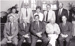 B&W group photograph of former Board of Directors and CEO, ASHOF at Naval Office, Beaufort Heritage Hotel 1993. ; c 1993; 16598