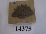 Object - Rising Sun Collar badge; Australian Army; 1904 - 1949; 14375