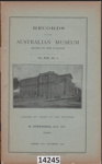 Book: Records of the Australian Museum; Etheridge, R Jnr, Roth, Walter Edmund; 1910; 14245