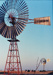 Colour photograph of Comet Windmill and Southern Cross Windmill at ASHOF, Longreach. ; 1990; 16581