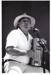 Photograph - Ted Egan performing at the first Drover's Reunion. ; c 1990; 18753