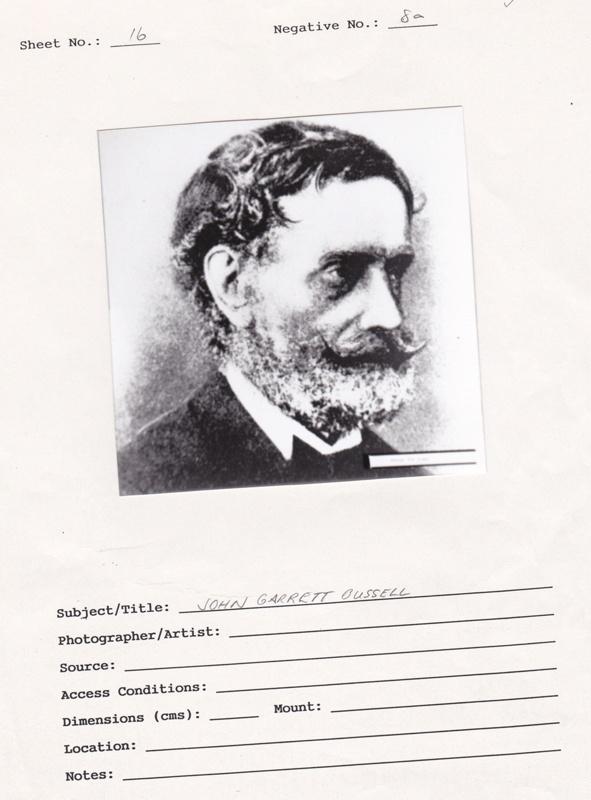 Photograph john garrett bussell c 1850 17298