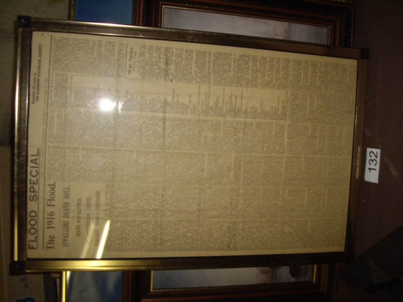 framed newspaper article 132