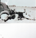 Photograph - Digging out a bogged car. ; c 1950; 14950