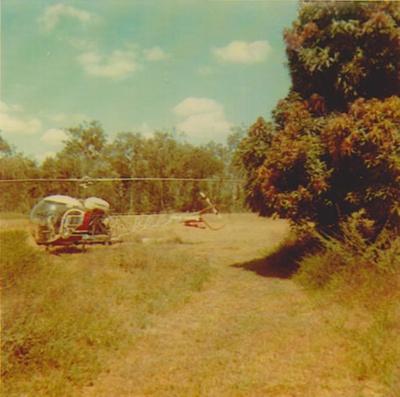 Photograph - Helicopter at Kalinga ; 1969; 19910