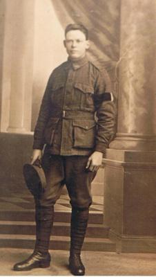 Arthur Charles WALLIS, b. 8th October 1899, East Fremantle WA, d. 25th November 1984, Como WA; USH00318