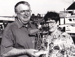 Photograph - Dr Tom Murphy (L) and Mrs Murphy with Outback Queensland Tourism Award.; The North West Star; c 1990; 19051