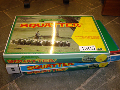 Squatter board game; 1305