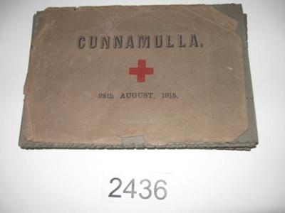 Photograph Album - Cunnamulla.; 1915; 2436