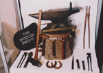 Photograph - The Wooden Smithy Sculpture made for the Dame Mary Durack outback Art and craft awards. ; Exposure Photographers; 2003; 19180