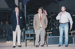 Photograph - (L-R) U/K male, Ranald Chandler and Peter Andrews on stage. ; c 1990; 19011