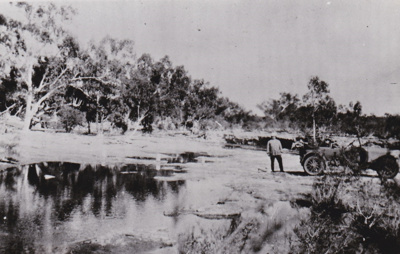 Photograph - Billabolong Pool on the Murchison River; c1920; 14993