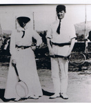 Photograph - Weeks Tennis Court, Gundagai. ; c 1910; 9183
