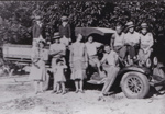 Photograph - Family outing in the ute. ; c 1930; 17866