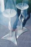 Photograph: Scupltures metal candlesticks; 1995; 19440